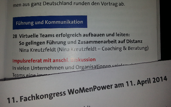 Blog WomenPower virtuelle Teams